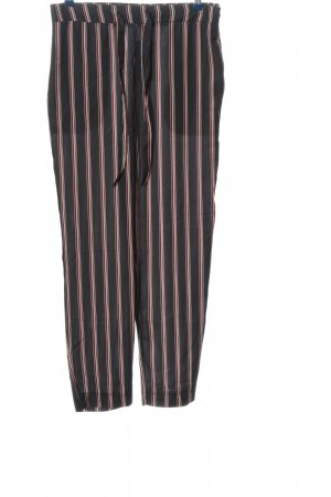 Mango Baggy Pants Streifenmuster Casual-Look