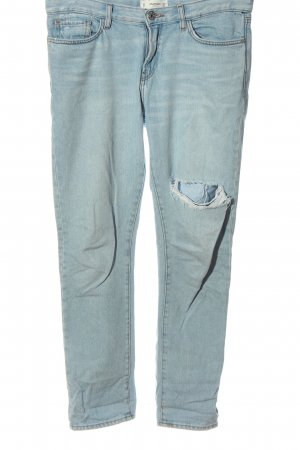 Mango Baggy Jeans blue casual look