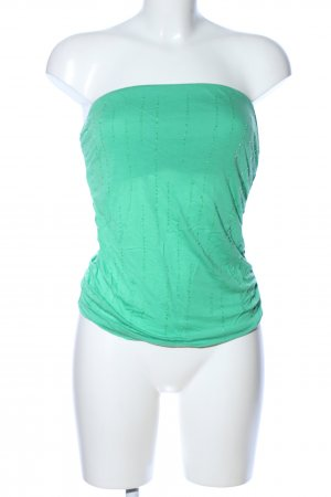 Mango Top a fascia verde stile casual