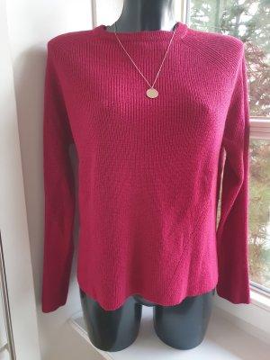 MANGO BASIC Pullover fuchsia