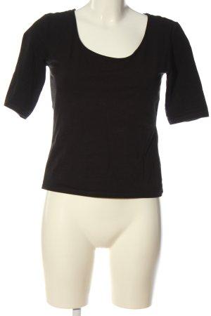 Mango Basic-Shirt schwarz Casual-Look