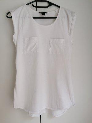 Mango basic T-Shirt weiß XS 34