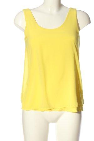 Mango Basic Top blassgelb Casual-Look