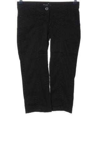 Mango Basics Pantalone a 3/4 nero stile casual