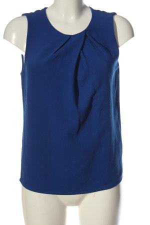 Mango Basics ärmellose Bluse blau Business-Look