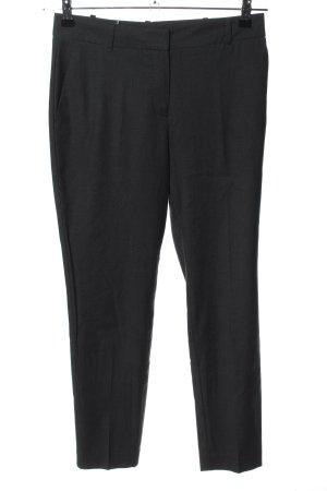 Mango Basics Anzughose schwarz meliert Business-Look
