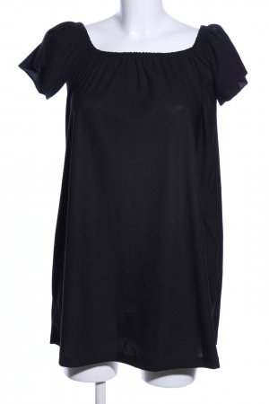 Mango Basics Babydoll Dress black casual look