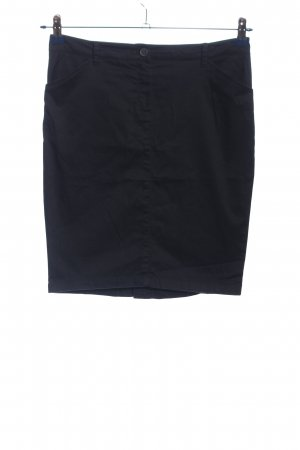 Mango Basics Bleistiftrock blau Business-Look