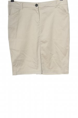 Mango Basics Pencil Skirt natural white casual look