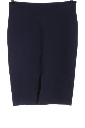 Mango Basics Pencil Skirt blue casual look