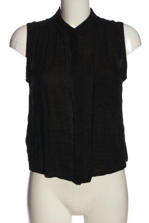 Mango Basics Camisa de mujer negro look casual