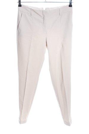 Mango Basics Pantalón de pinza blanco puro look casual