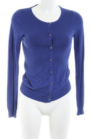 Mango Basics Cardigan blau Casual-Look