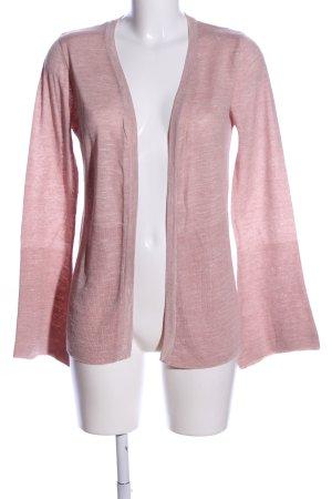 Mango Basics Cardigan pink meliert Casual-Look
