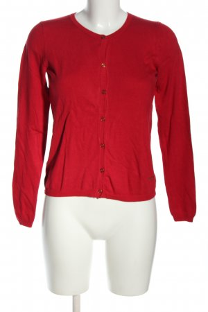 Mango Basics Cardigan rot Casual-Look