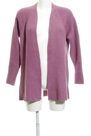Mango Basics Cardigan rosa Casual-Look