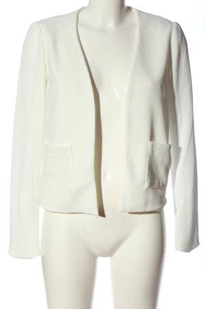 Mango Basics Kardigan biały W stylu casual