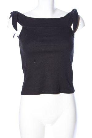 Mango Basics Carmen Shirt black casual look
