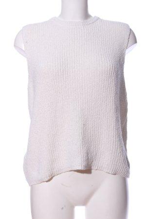 Mango Basics Fijn gebreide cardigan wit casual uitstraling