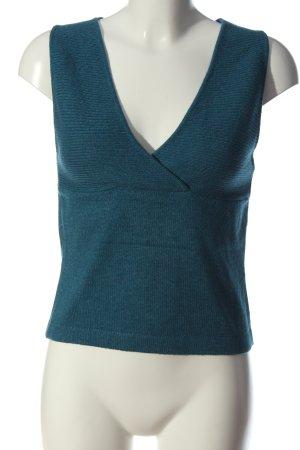 Mango Basics Fijn gebreide cardigan blauw casual uitstraling