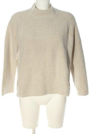 Mango Basics Pullover a maglia grossa bianco sporco stile casual