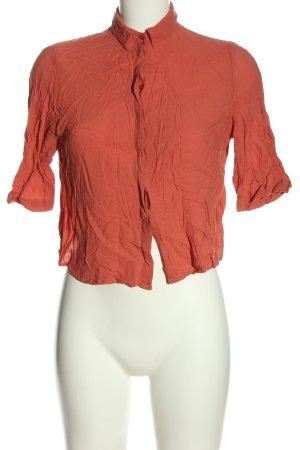 Mango Basics Hemd-Bluse rot Casual-Look