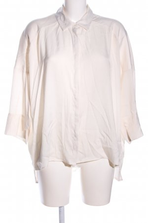 Mango Basics Hemd-Bluse creme Business-Look