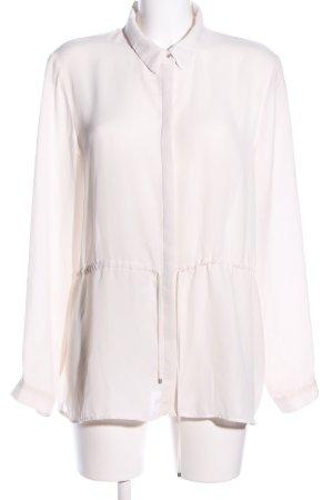 Mango Basics Hemd-Bluse wollweiß Business-Look