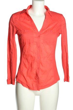 Mango Basics Hemd-Bluse rot Business-Look