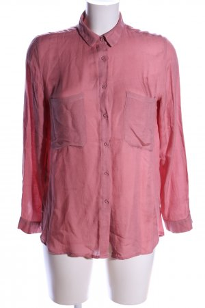 Mango Basics Hemd-Bluse pink Casual-Look