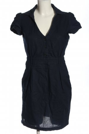 Mango Basics Koszulowa sukienka niebieski W stylu casual