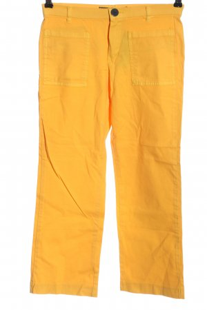 Mango Basics High-Waist Hose hellorange Casual-Look