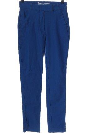 Mango Basics High-Waist Hose blau Business-Look