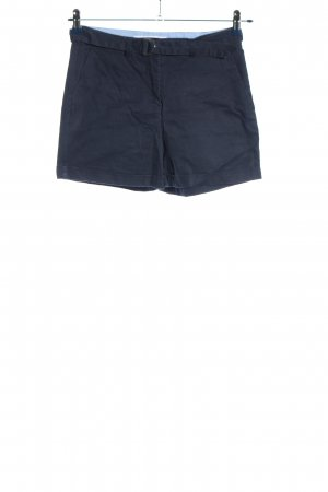 Mango Basics Hot pants blauw casual uitstraling