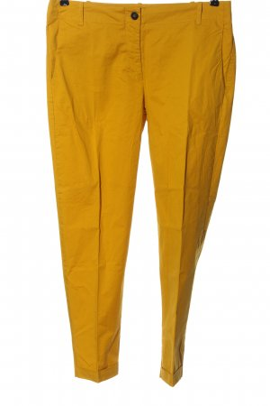 Mango Basics Lage taille broek sleutelbloem casual uitstraling