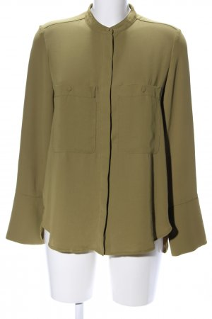 Mango Basics Jeansbluse khaki Business-Look