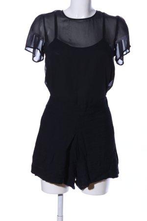 Mango Basics Jumpsuit schwarz extravaganter Stil