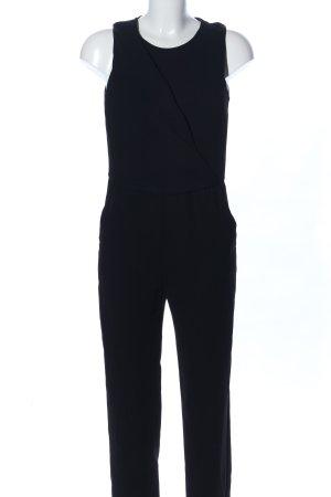 Mango Basics Jumpsuit schwarz Business-Look