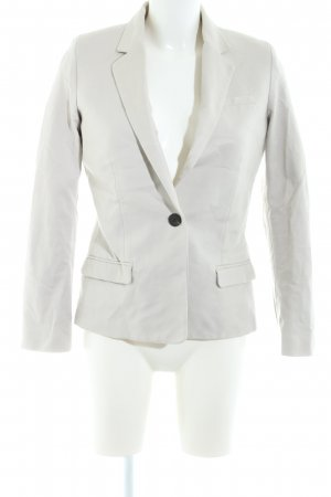 Mango Basics Kurz-Blazer hellgrau Business-Look