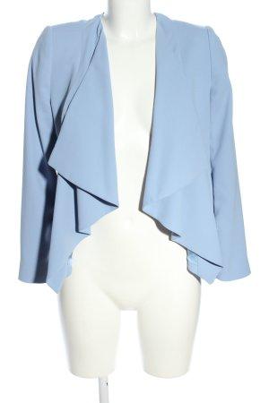 Mango Basics Kurz-Blazer blau Casual-Look