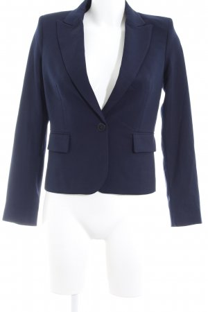 Mango Basics Kurz-Blazer dunkelblau Business-Look