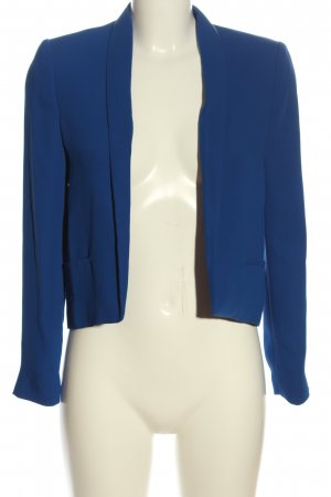 Mango Basics Kurz-Blazer blau Business-Look