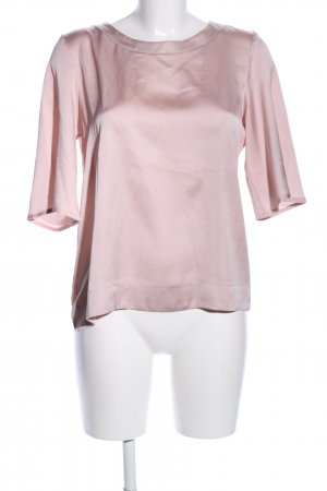 Mango Basics Langarm-Bluse pink Casual-Look