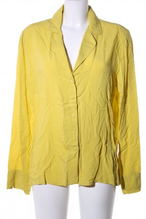 Mango Basics Langarmhemd blassgelb Business-Look