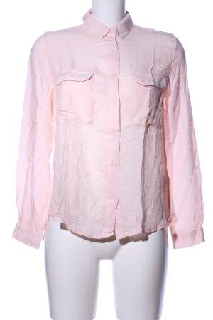 Mango Basics Langarmhemd pink Casual-Look