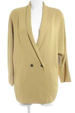 Mango Basics Long-Blazer goldorange Casual-Look