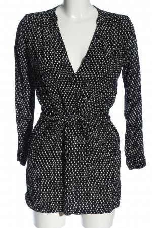 Mango Basics Minikleid schwarz-weiß Casual-Look