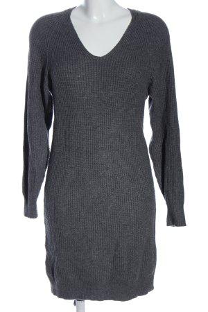 Mango Basics Pulloverkleid hellgrau meliert Casual-Look