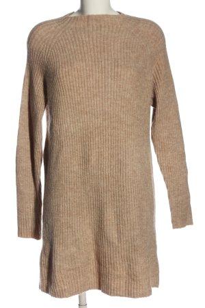 Mango Basics Abito maglione color carne puntinato stile casual
