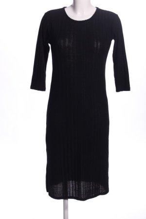 Mango Basics Robe pull noir style décontracté